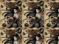background: goddess